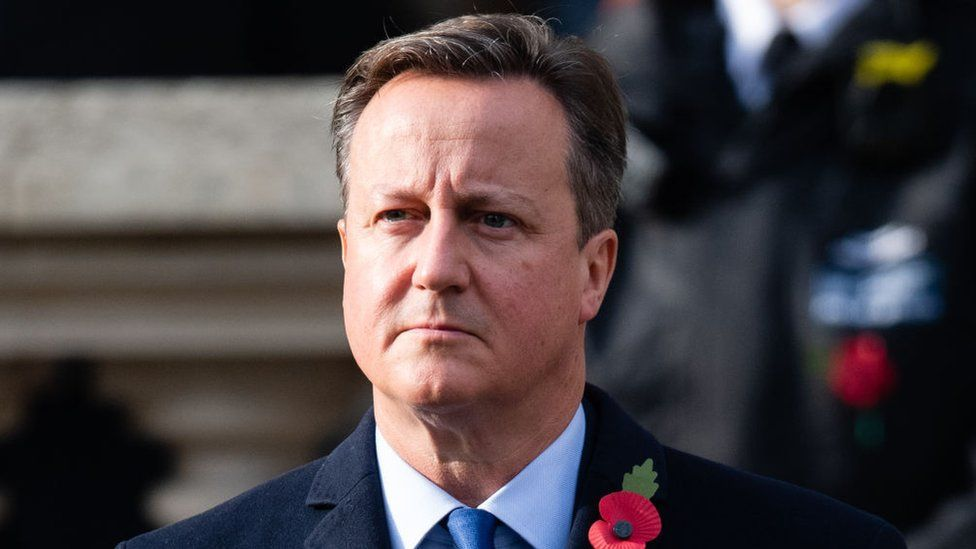 Former British prime minister David Cameron was a paid advisor to Greensill Capital