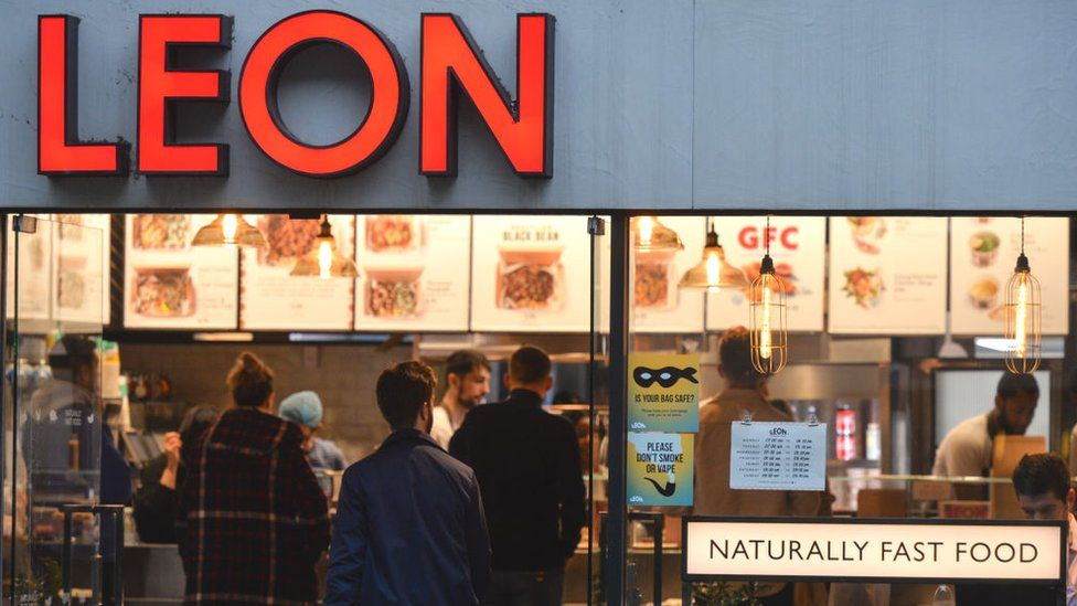 Leon fast food restaurant