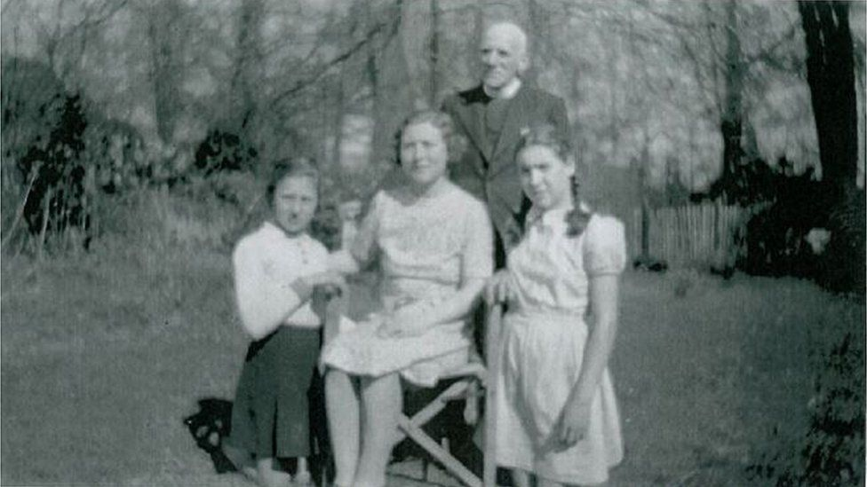 Margaret and her family