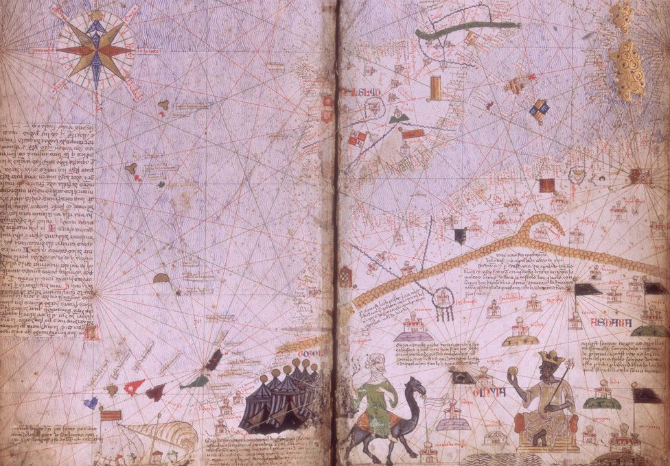 Catalan atlas map
