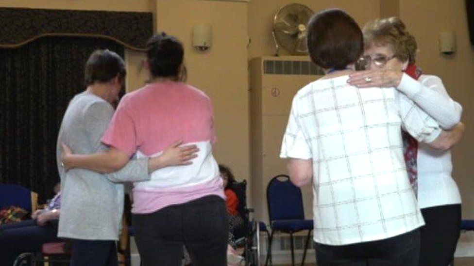 Tea dance at the Bridges Community Centre in Monmouth