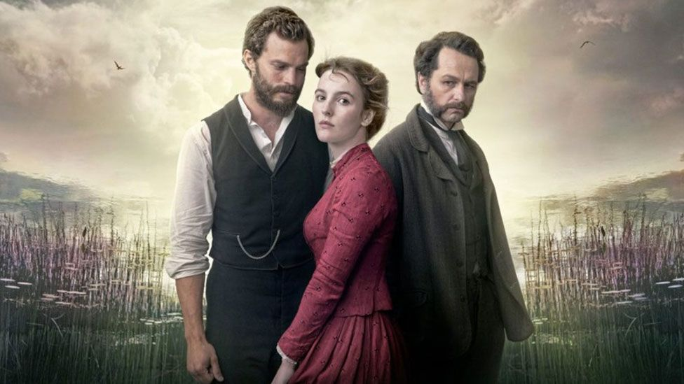 Jamie Dornan, Anne Skelly and Matthew Rhys in Death and Nightingales