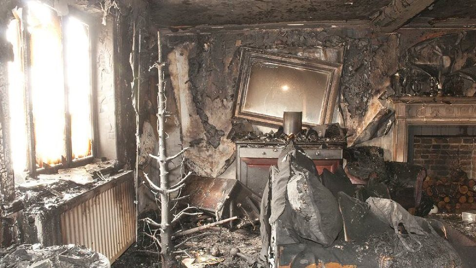 house arson