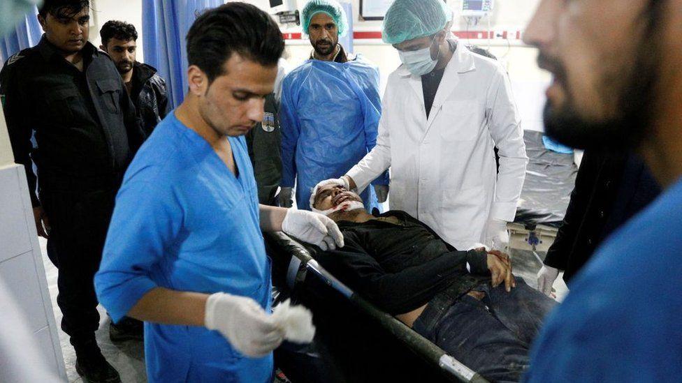 Wazir Akbar Khan hospital staff