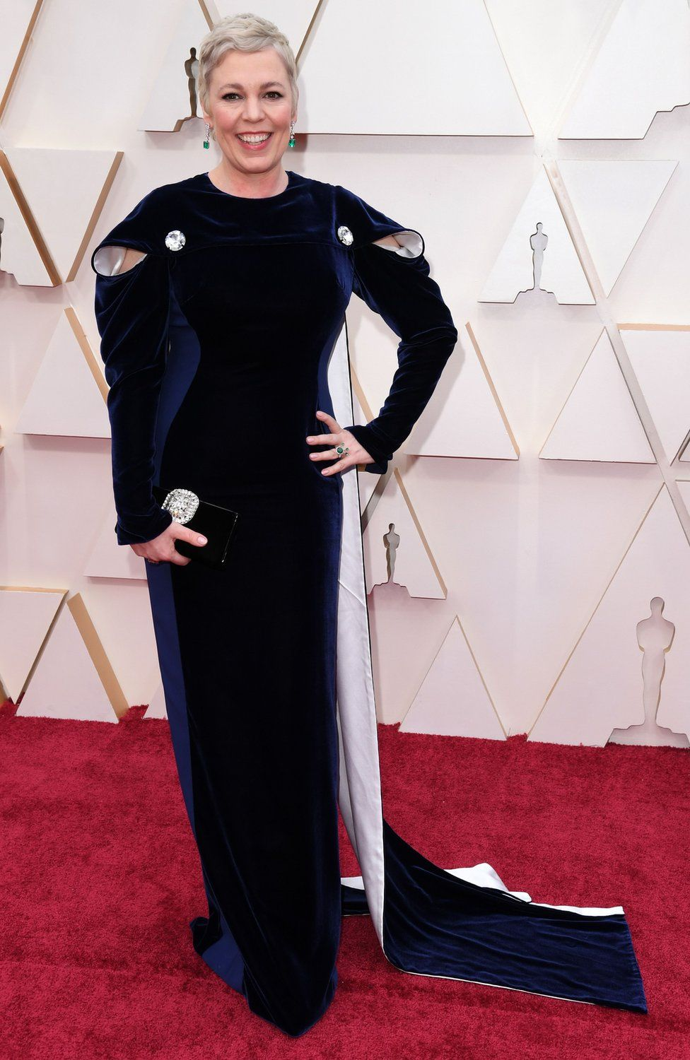 Olivia Colman on the red carpet