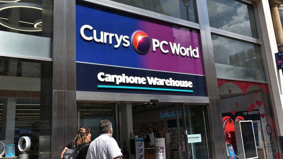 Currys PC world shop