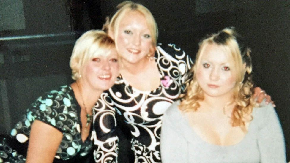 Jessica Whitchurch and her sisters Emma and Beth