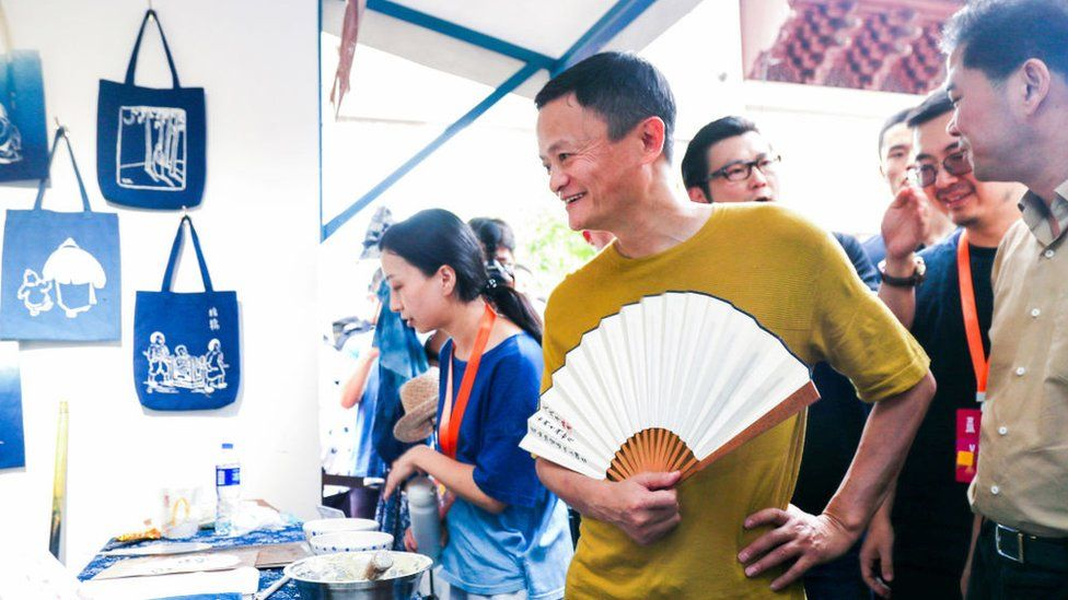 Alibaba chairman Jack Ma at the Taobao Maker Festival in China.