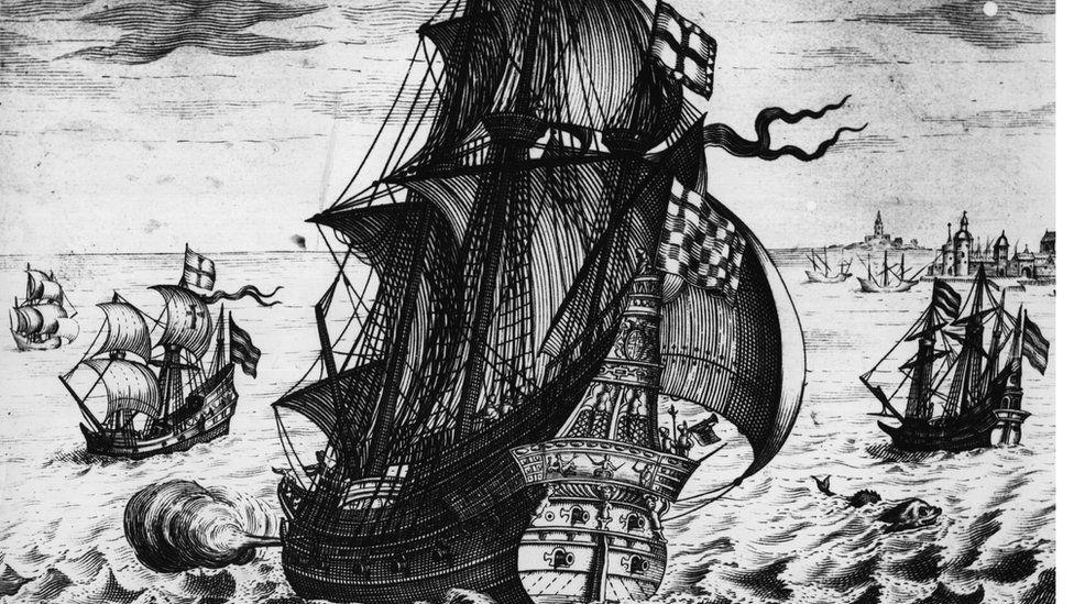 Spanish galleon (circa 1550)