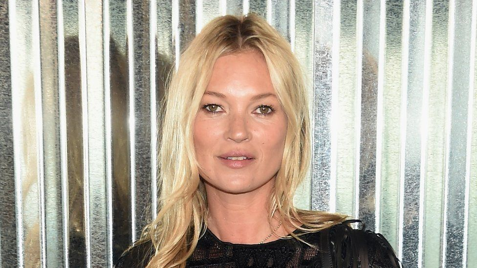 Kate Moss at an event this year