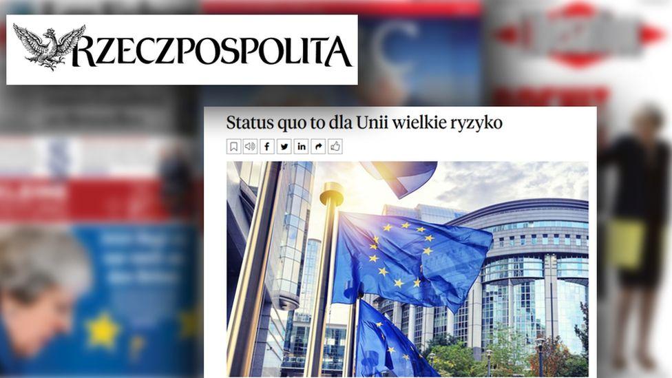 Article from Polish newspaper Rzeczpospolita, 27 May 2019