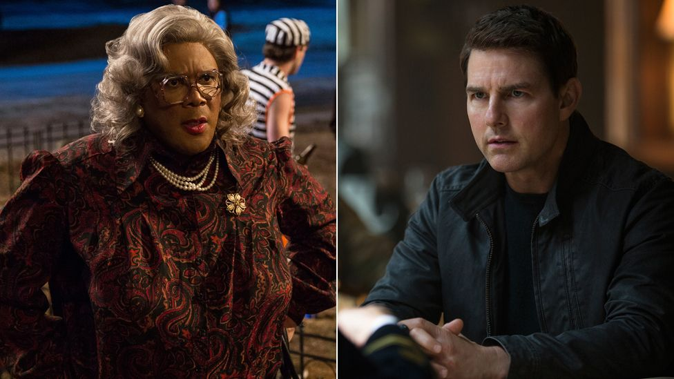 Tyler Perry and Tom Cruise