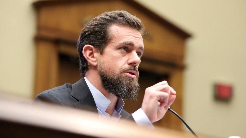 Twitter CEO Jack Dorsey testifies before Congress in September 2018