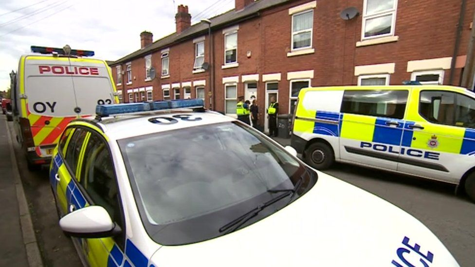 Raids at houses in Derby