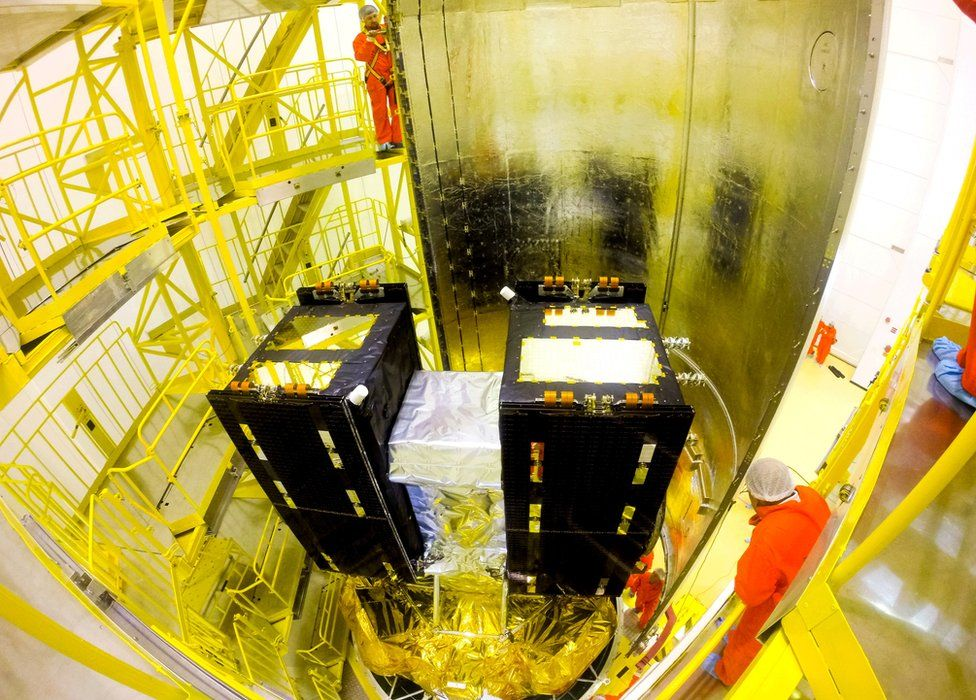 Two satellites can be carried into orbit by a Soyuz rocket