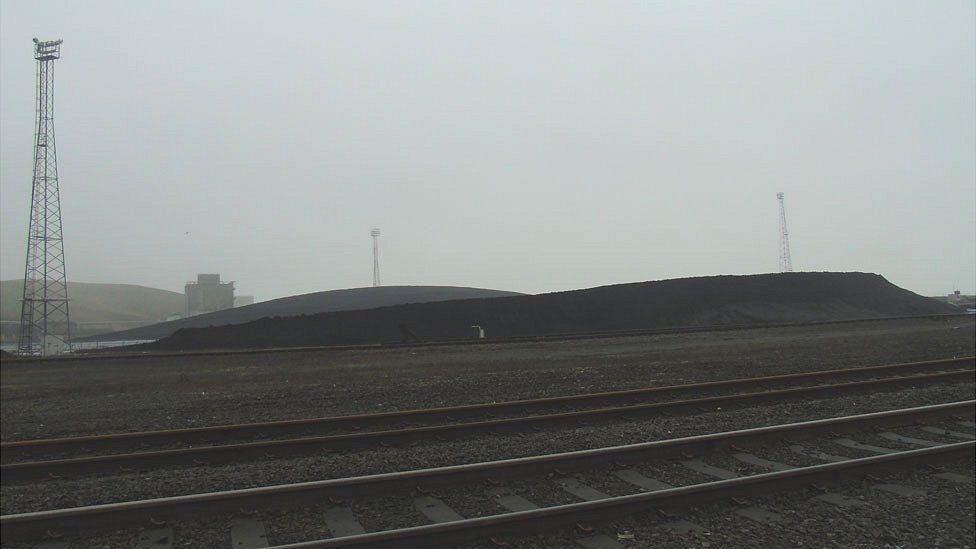 Coal stocks at Aberthaw