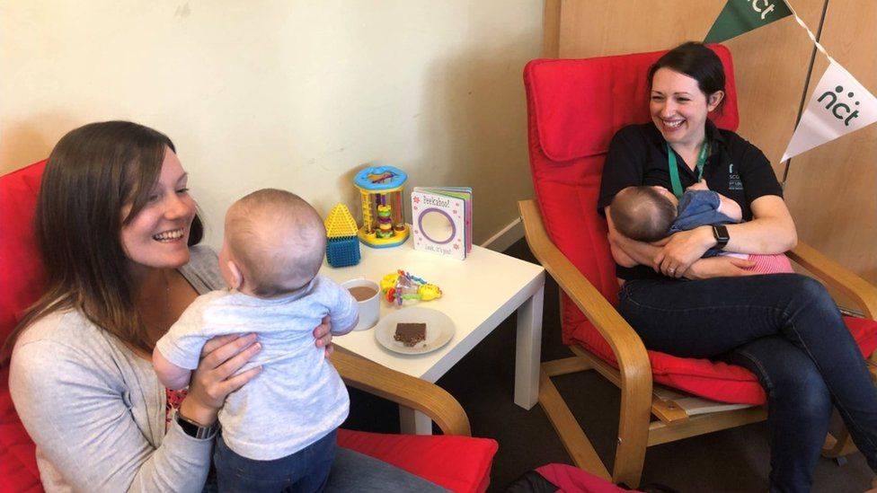 Eight in 10 mums breastfeed in the Lothians