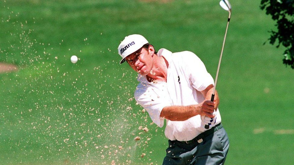 Sir Nick was once ranked No. 1 on the Official World Golf Ranking for a total of 97 weeks