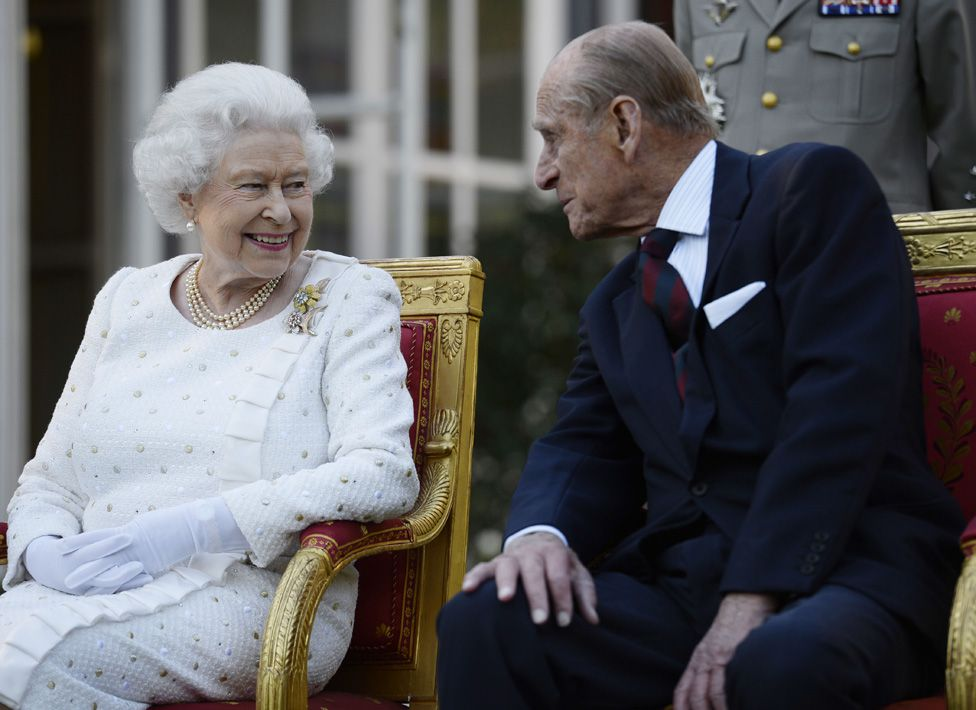 The Queen with Prince Philip