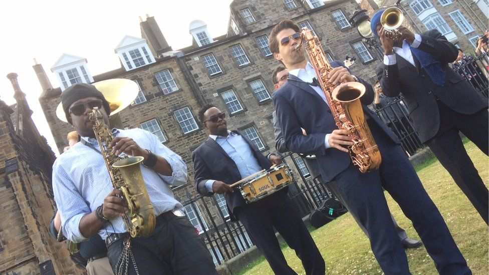 Music from the New Orleans based Soul Brass Band
