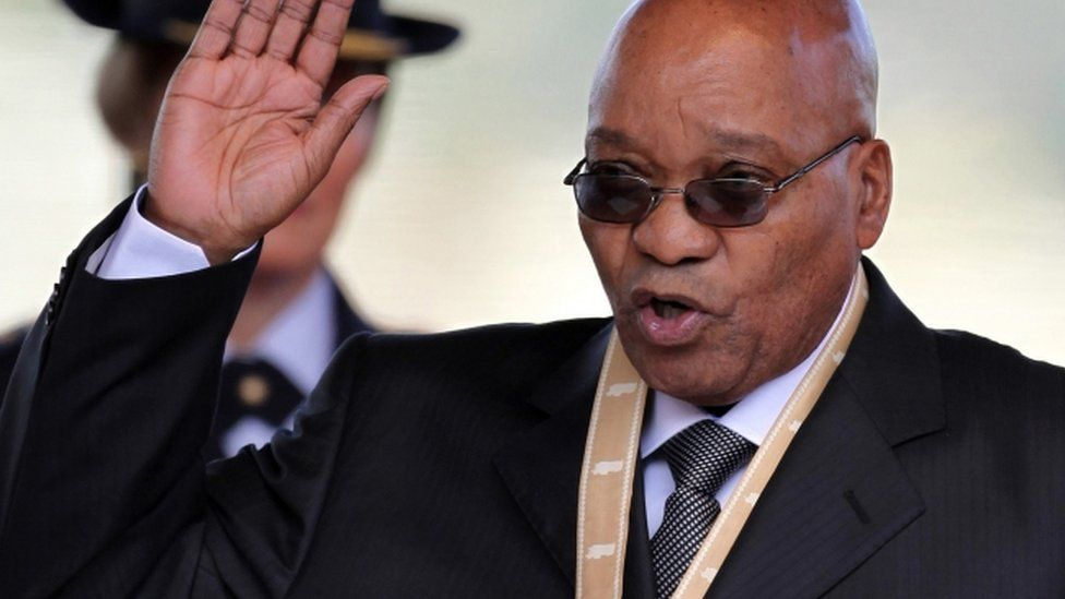 South Africa's President Jacob Zuma takes an oath during his inauguration in Pretoria, South Africa - 9 May 2009