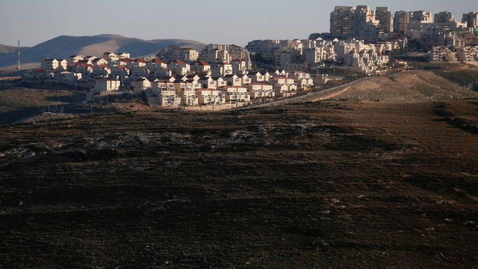 The Israeli settlement of Maale Adumim in the occupied West Bank (file photo)