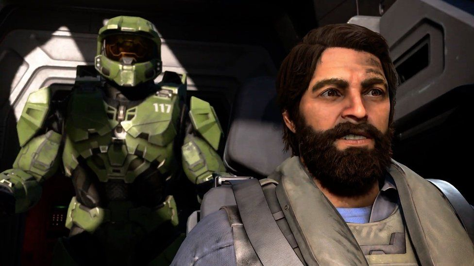 A screenshot of Halo Infinite