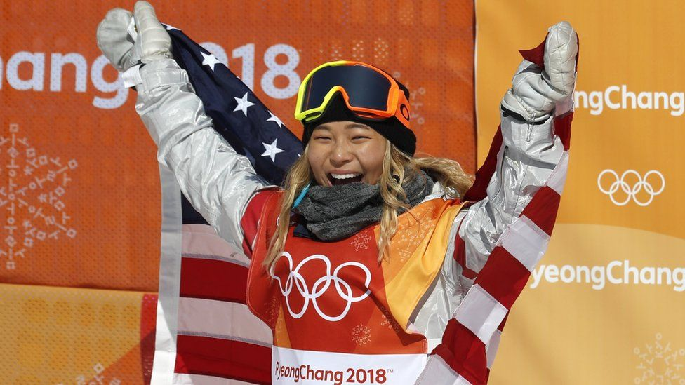American Chloe Kim won gold in South Korea - the country her parents emigrated from in 1982