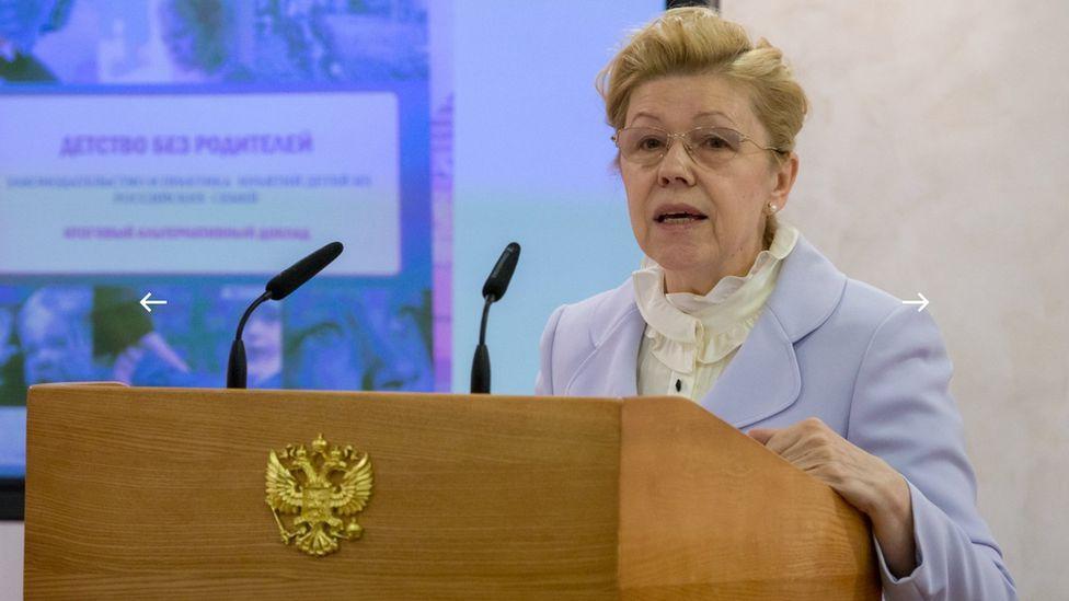 Russian Senator Yelena Mizulina