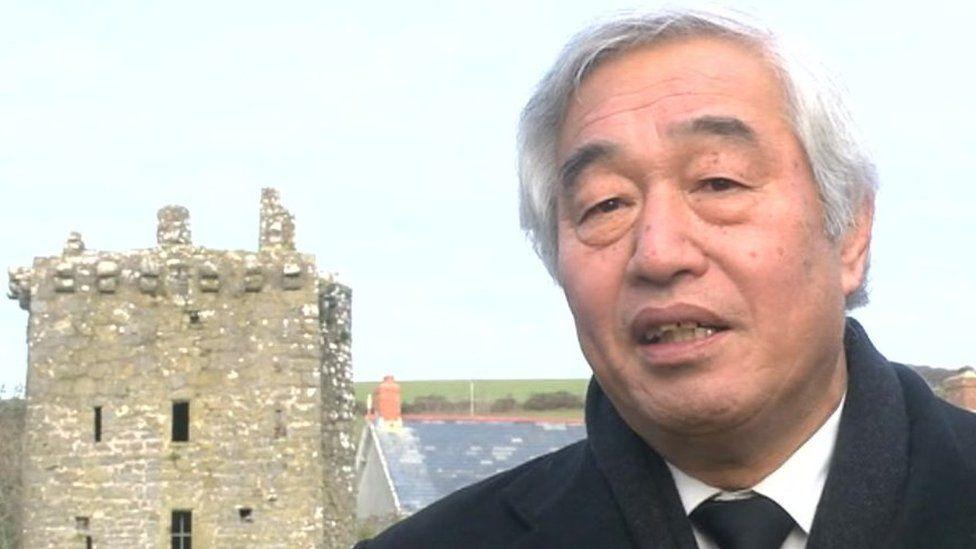 Uwch Gadfridog Ken Matsui