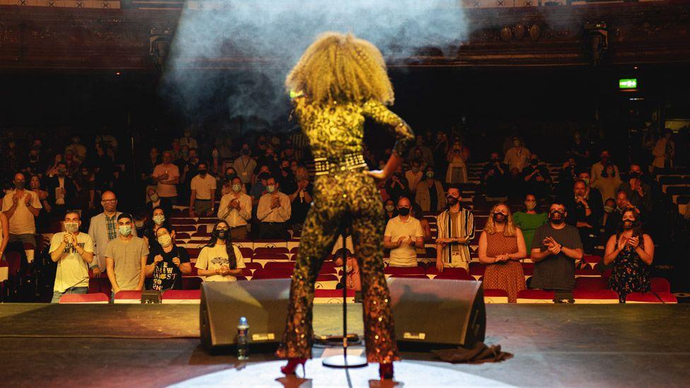 Beverley Knight gig at the London Palladium