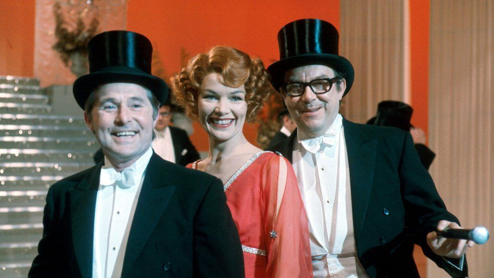 Ernie Wise, Glenda Jackson and Eric Morecambe