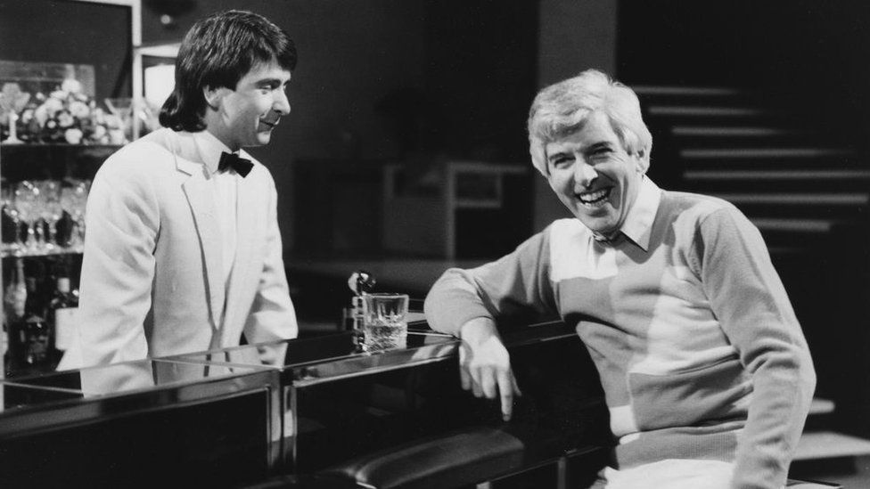 Tom O'Connor on the Tom O'Connor Show in the 1980s