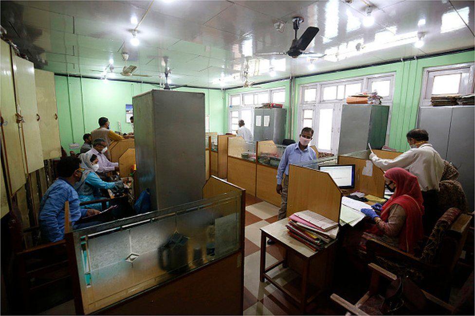 India covid hospital