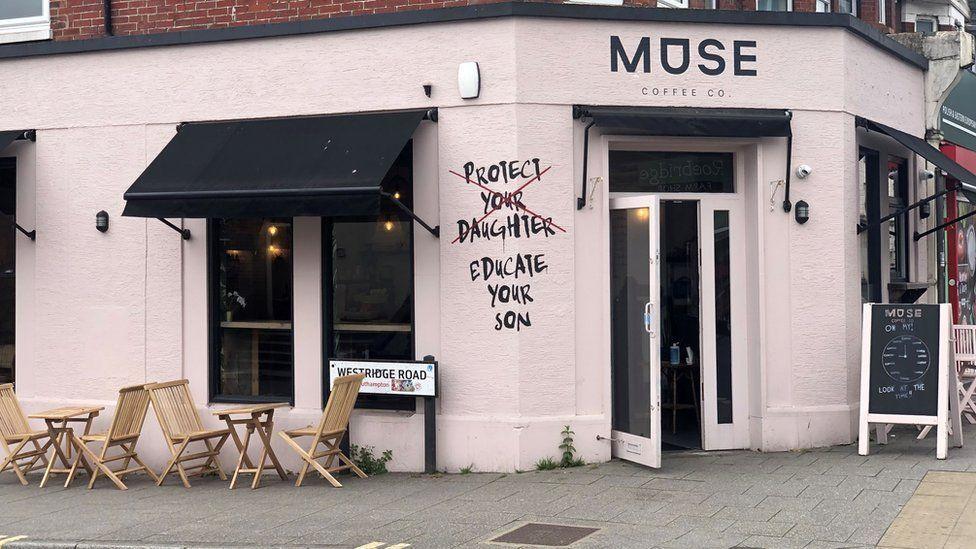 Muse coffee shop in Southampton