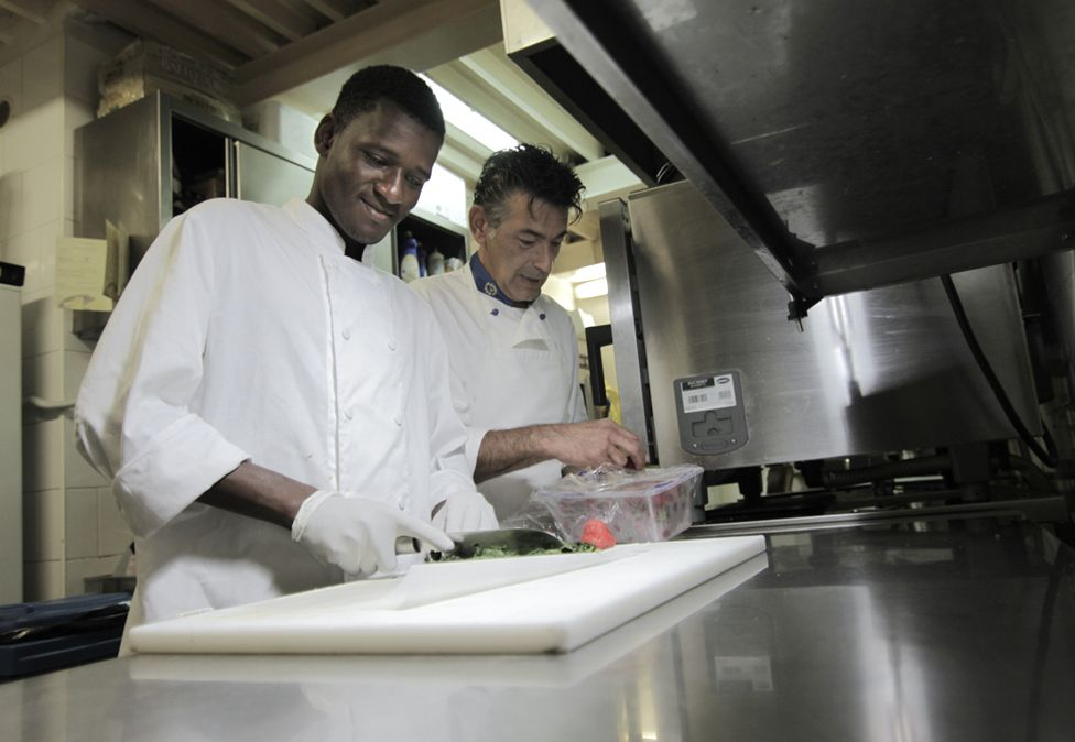 Yahya and Salvo Baltico in the kitchen at 11Eleven