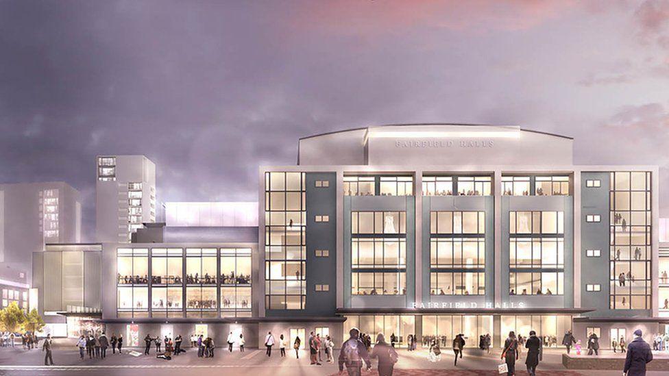 Fairfield Halls architect's impression