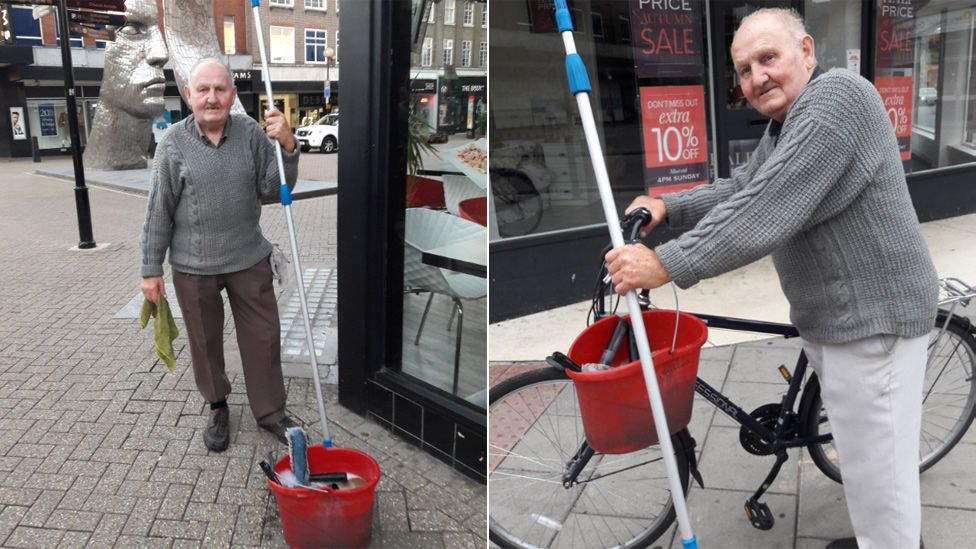 Dave Denton window cleaning in Bedford