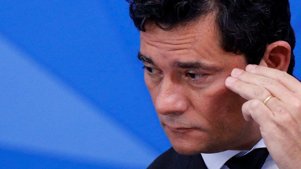 Former Brazilian Justice Minister Sergio Moro
