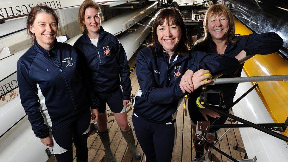 Frances Davies (from left), Helen Butters, Niki Doeg and Janette Benaddi