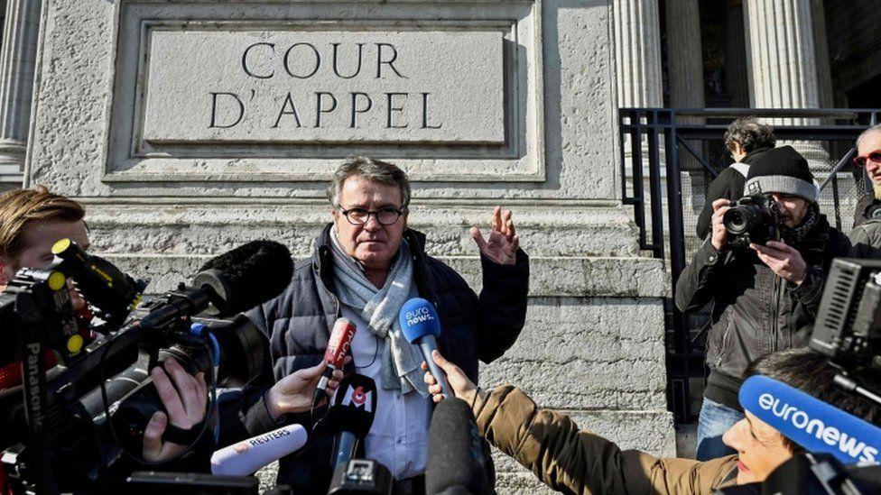 Paul Francois at the Lyon appeal court