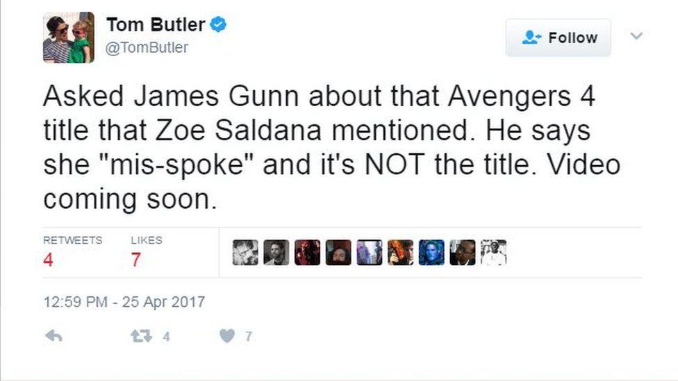 Tom Butler/Twitter