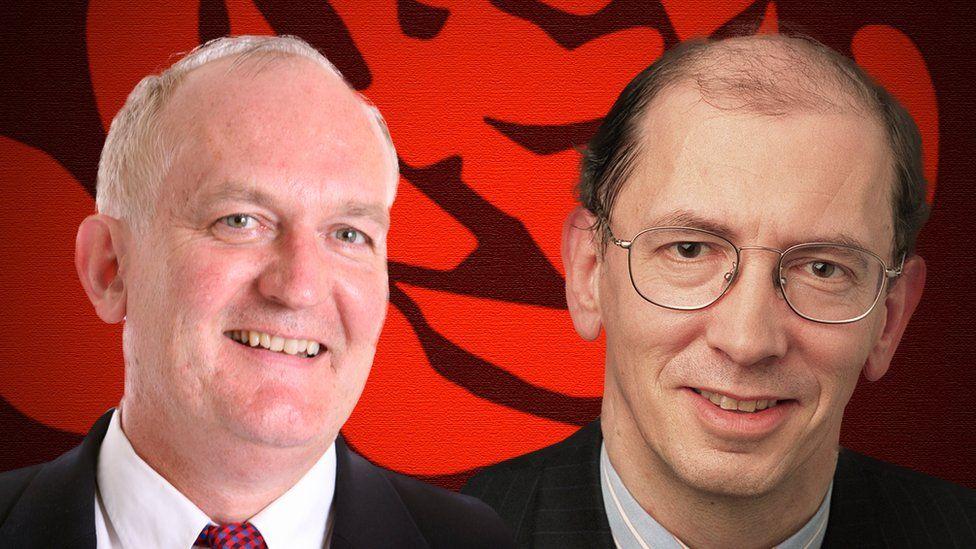Chris Ruane and Gareth Thomas