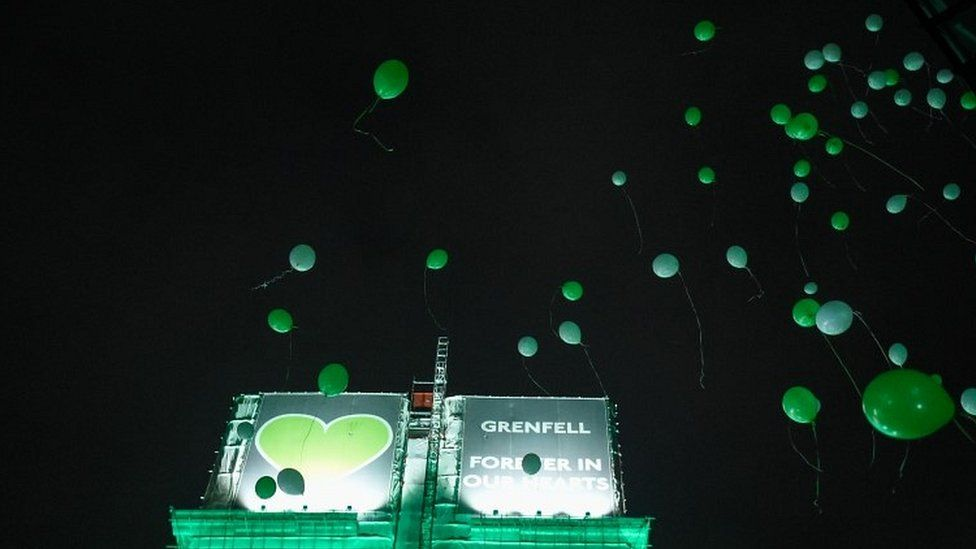 Balloons released at vigil