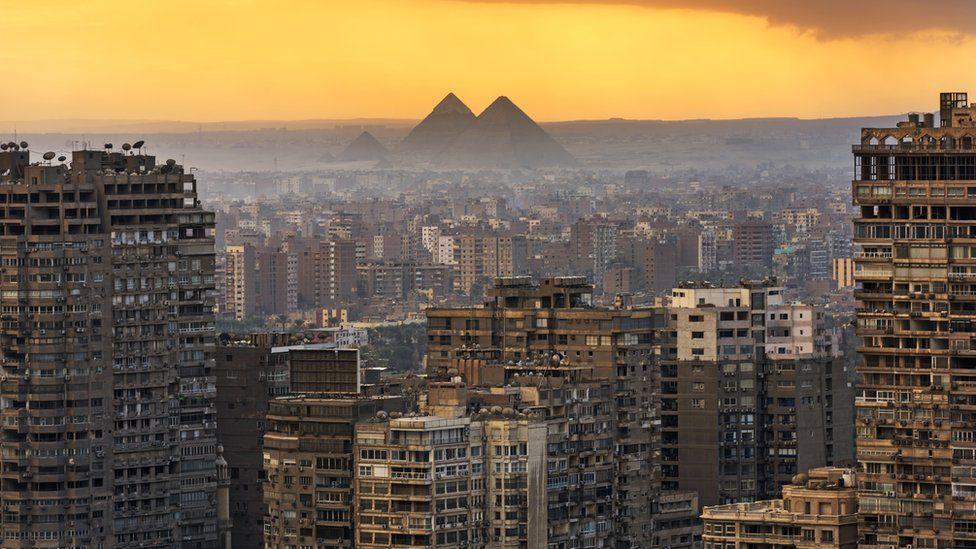Landscape of Cairo