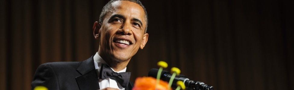 Barack Obama at the 2013 event