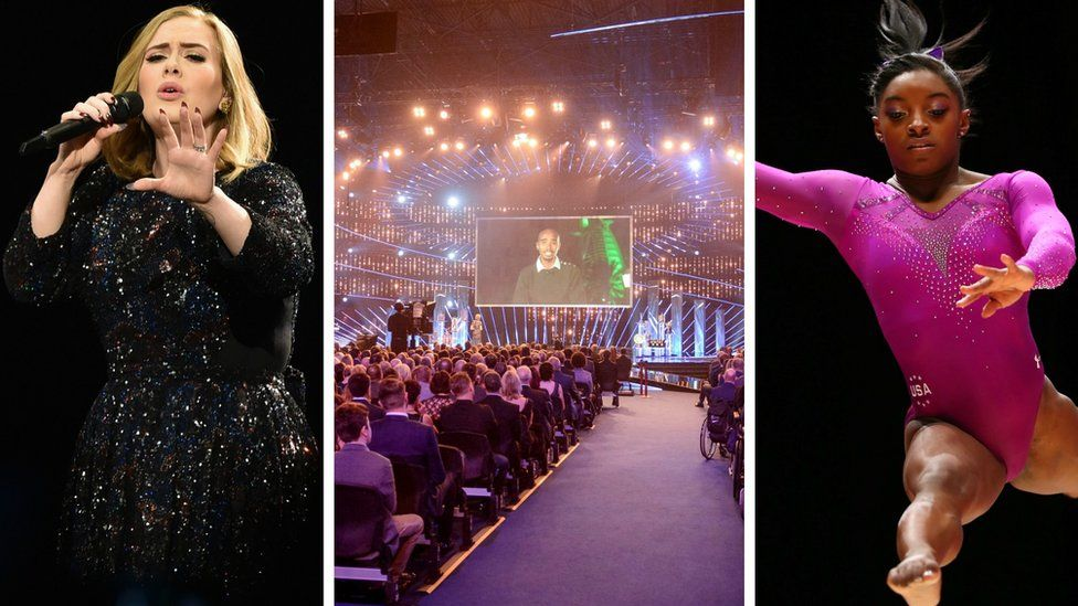 Adele, the BBC Sports Personality of the Year and Simone Biles
