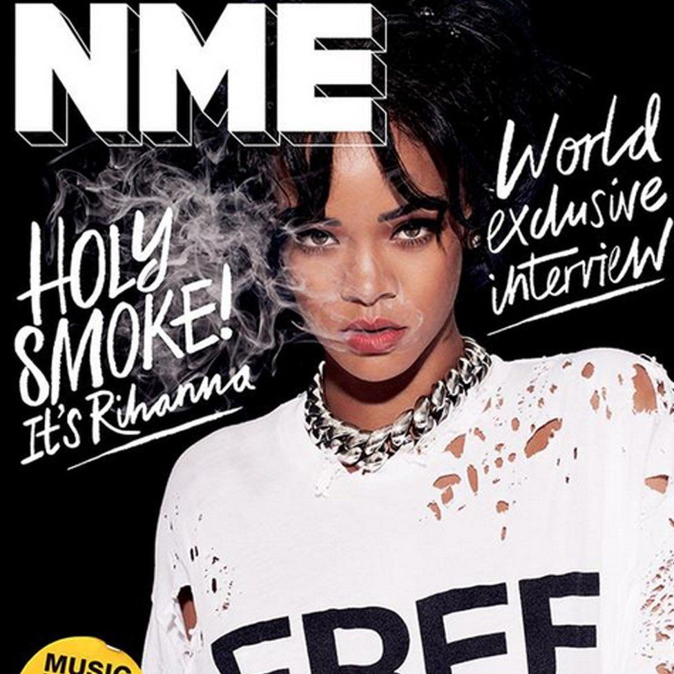 NME free cover with Rihanna