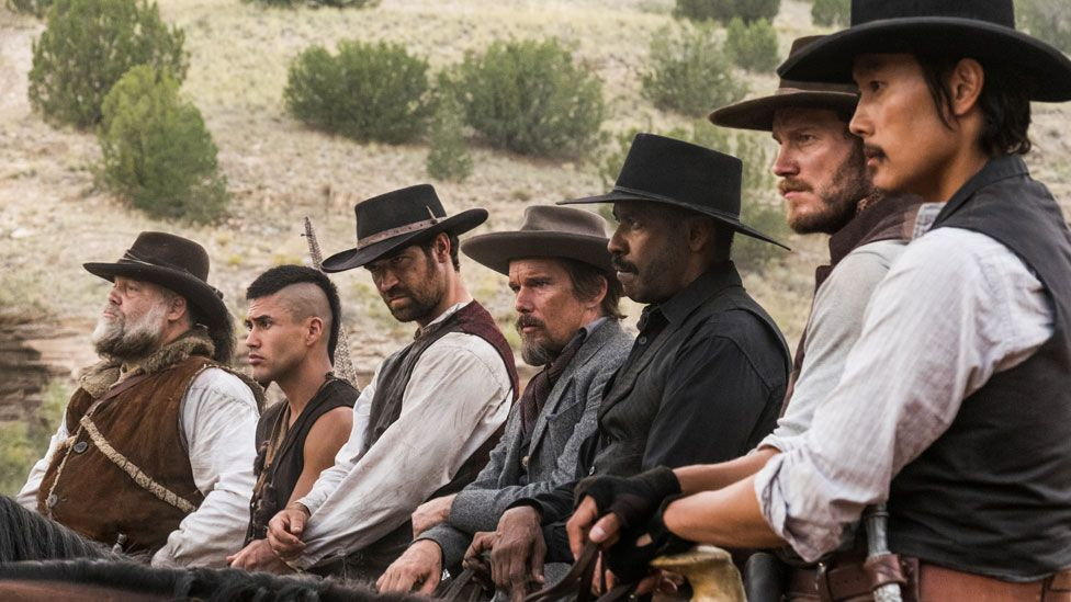 The cast of The Magnificent Seven