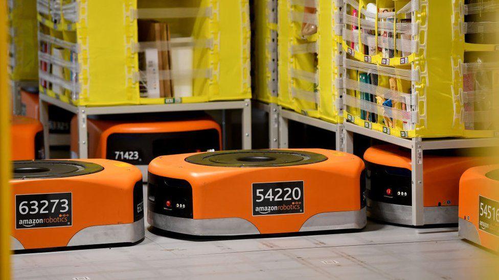 Роботы Amazon Robotics